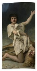 The Shepherd David Triumphant Hand Towel