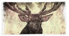 The Stag Bath Towel