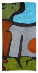 The Weight Of Time Bath Towel