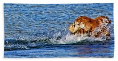 There She Goes Bath Towel