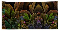 This Peculiar Life - Fractal Art Hand Towel by NirvanaBlues