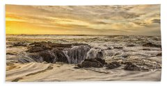 Thor's Well Hand Towel by Billie-Jo Miller