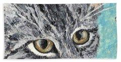 Tiger Cat Hand Towel