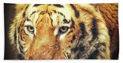 Tiger Portrait Hand Towel