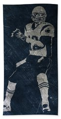 Tom Brady Patriots 2 Hand Towel