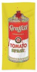 Tomato Spray Can Hand Towel