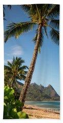 Tunnels Beach Haena Kauai Hawaii Bali Hai Bath Towel