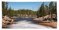 Tuolumne River Hand Towel