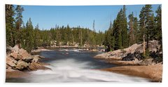 Tuolumne River Bath Towel
