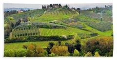 Tuscany Landscape Hand Towel