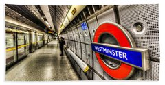 Underground London Hand Towel