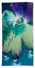 Underwaterflower Abstraction 6 Bath Towel