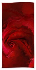 Unfurling Beauty Iv Hand Towel