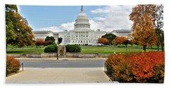 United States Capitol - Washington, D.c. Hand Towel