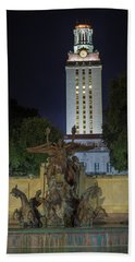 University Of Texas Tower Hand Towel