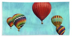 Hand Towel featuring the photograph Up Up And Away 2 by Benanne Stiens