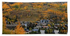 Vail Colorado Hand Towel by Fiona Kennard