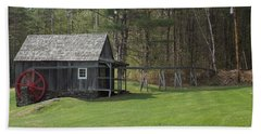 Vermont Grist Mill Bath Towel by Catherine Gagne
