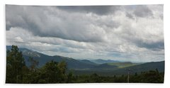 View From Mount Washington Bath Towel by Suzanne Gaff