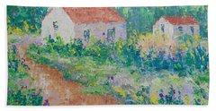 Village De Provence Bath Towel