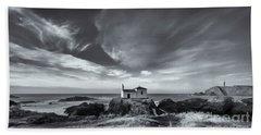 Hand Towel featuring the photograph Virxe Do Porto Meiras Galicia Spain by Pablo Avanzini