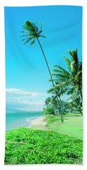 Bath Towel featuring the photograph Waipuilani Beach Kihei Maui Hawaii by Sharon Mau
