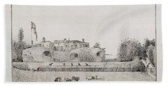 Walmer Castle Kent Bath Towel