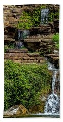 Water Over The Rocks One Bath Towel