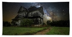 What Once Was Bath Towel by Aaron J Groen