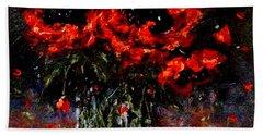 Whispers Of Love  Bath Towel by Cristina Mihailescu