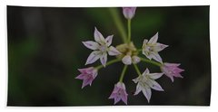 Hand Towel featuring the photograph Wild Garlic by Frank Madia