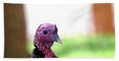Wild Turkey Up Close Hand Towel