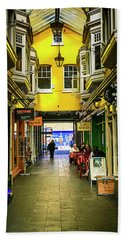 Windham Shopping Arcade Cardiff Bath Towel