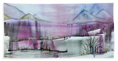 Winter Afternoon Hand Towel