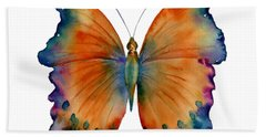 1 Wizard Butterfly Hand Towel by Amy Kirkpatrick