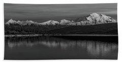 Wonder Lake Denali National Park Hand Towel