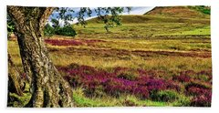 Yorkshire Moorland Heather Hand Towel