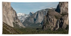 Bath Towel featuring the photograph Yosemite Valley Afternoon by Sandra Bronstein