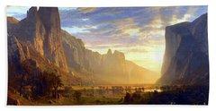 Yosemite Valley Bath Towel