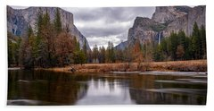 Yosemite Valley Hand Towel
