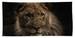 Young Lion Bath Towel