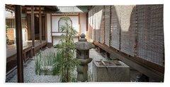 Zen Garden, Kyoto Japan Hand Towel