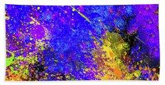 Abstract Composition Bath Towel by Samiran Sarkar