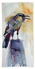 Crow Hand Towel