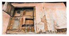 Old Window Hand Towel