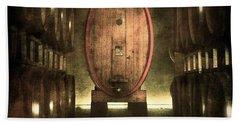 100 Hl - Italian Red Wine Bath Towel