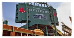 100 Years At Fenway Bath Towel by Joann Vitali