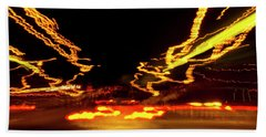 101 Southbound At Night Bath Towel