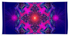 1028 -  A Mandala Purple And Pink 2017 Bath Towel