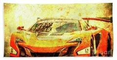 106 - 2015 Mclaren 650s Gt3 Race Car Hand Towel